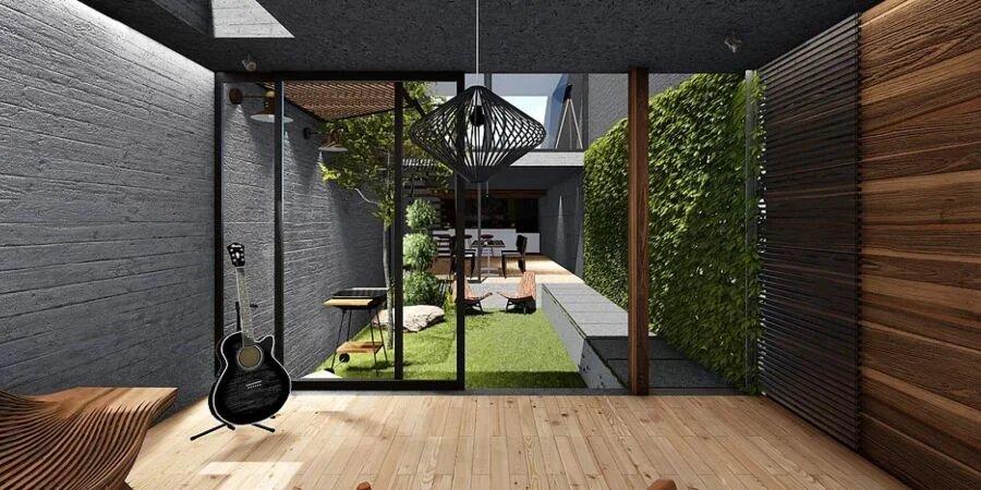 arquitectura patio interno