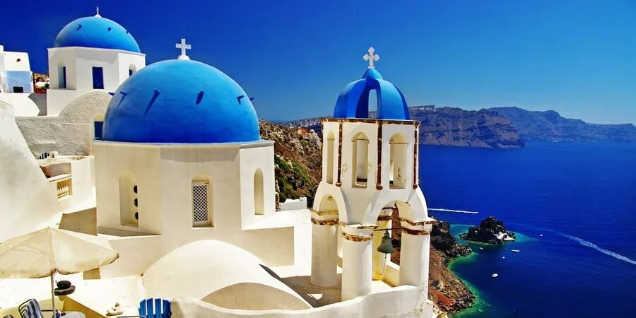 Patios griegos