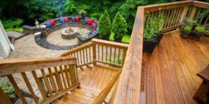 Deck de maderas multinivel